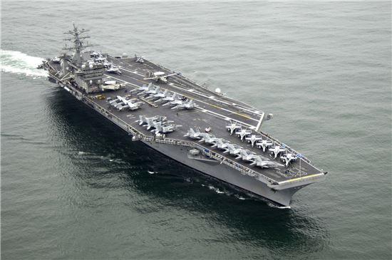 미국 항공모함 니미츠호