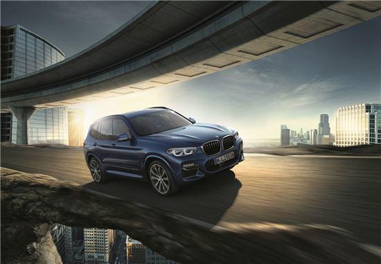 BMW, 완전변경 뉴 X3 출시…'6580만원~8360만원'