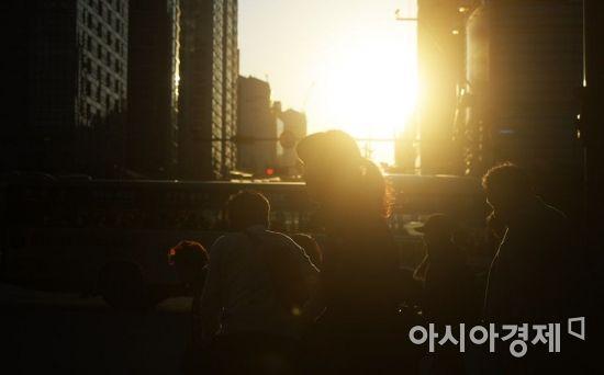 [포토]초겨울 추위 녹이는 가을 햇살