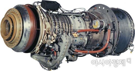 신형 고속정에 탑재되어있는 GE LM500 해상 가스터빈
