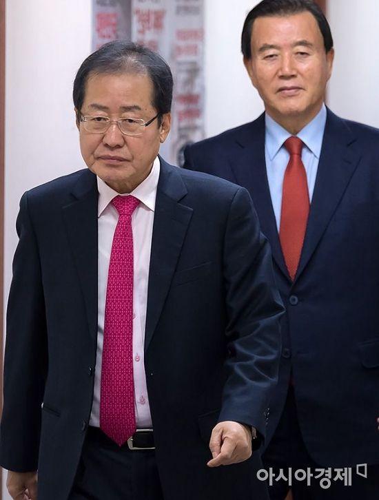 """洪 """"좌파 포퓰리즘 예산 못 막은 점 사죄…신보수 거듭날 것"""""""