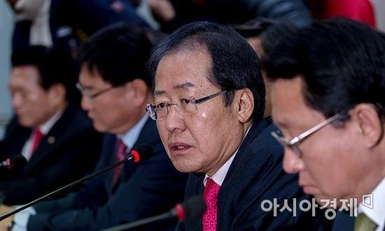 홍준표 자유한국당 대표/윤동주 기자 doso7@