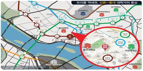 서울시·6개 지자체, 신촌 역세권 일대에 공공기숙사 건립