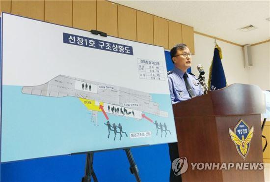 [이미지출처=연합뉴스]선창1호 구조상황도