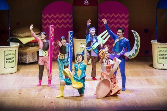 '푸니와 햄버거' 공연 모습. 사진제공=국립국악원