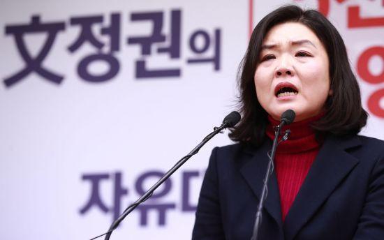 """류여해, 지방선거 참패한 홍준표 향해 """"빨리 손잡고 나가라"""" 비난"""