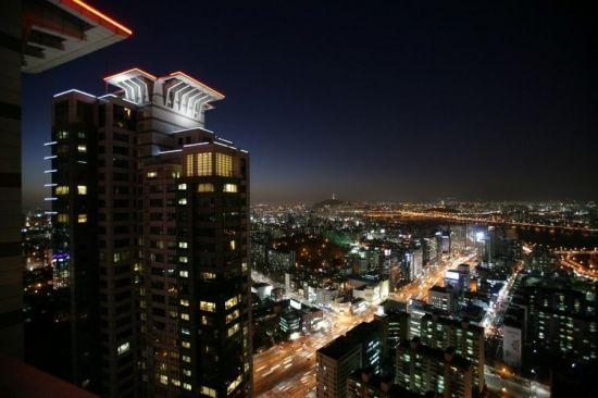 삼성동 현대아이파크에서 바라본 주변 야경<자료:서울시>