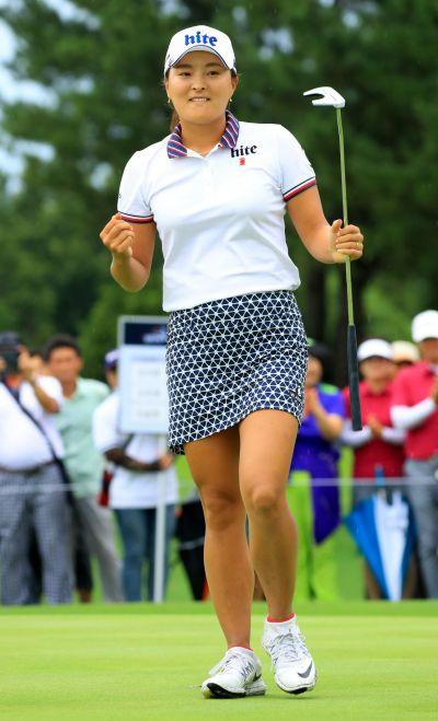 고진영이 호주여자오픈에서 LPGA투어 데뷔전을 치른다.
