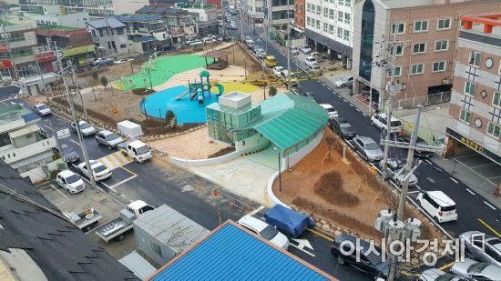 광주 북구, 운암어린이공원 지하 공영주차장 준공