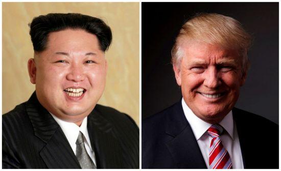 김정은 북한 노동장 위원장(왼쪽)과 도널드 트럼프 미국 대통령 [이미지출처=로이터연합뉴스]