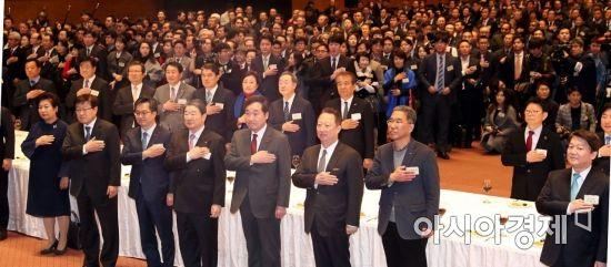 [포토] 경제계 신년 인사회 참석한 이낙연 국무총리
