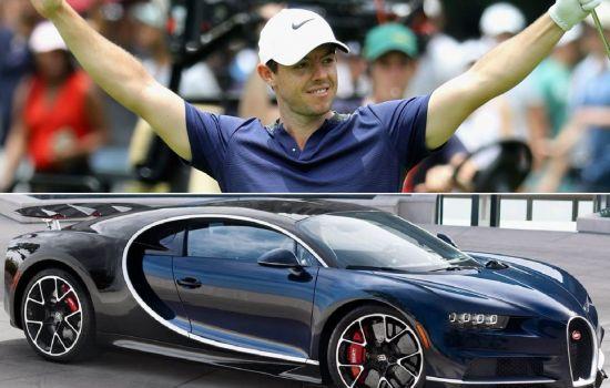 로리 매킬로이가 2012년 구입했다는 보도가 나왔던 세계에서 가장 빠른 자동차 부가티다. 사진=디지털 트렌즈