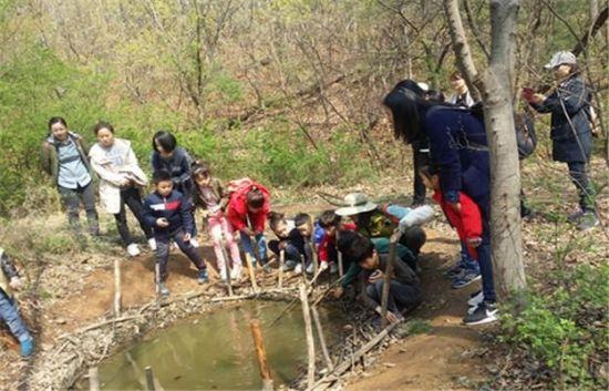 일자산 숲 속 생태체험 자연 소중함 배워