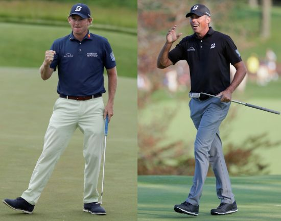 브랜트 스니데커(왼쪽)와 매트 쿠차가 전문가들이 꼽은 올해 마스터스 우승 후보다.