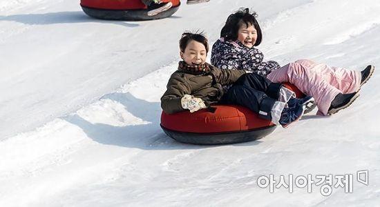 [포토] 겨울 추억 쌓기