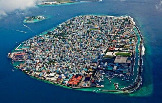 몰디브의 수도 말레 모습. 지난 5일(현지시간) 국가비상사태가 선포된 이후 여행객들의 방문이 자제되고 있는 상태다.(사진=www.worldatlas.com)