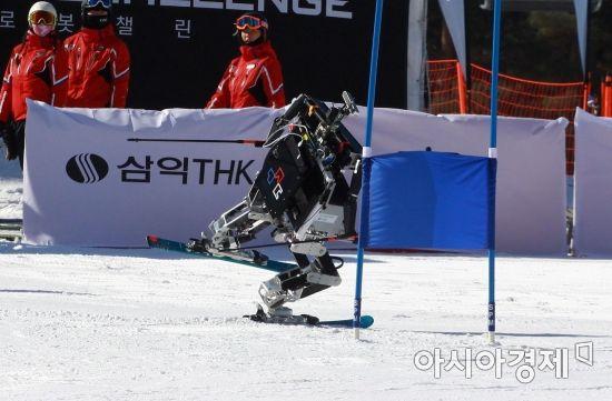 [리얼타임 평창] 스키 타는 로봇, 처음 봐? '평창 스키로봇 챌린지' 우승 로봇은?