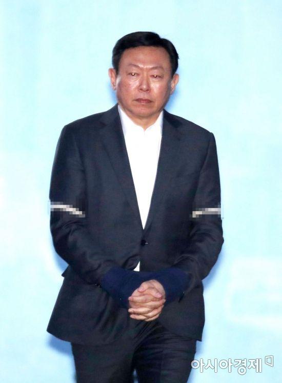 '담담' 최순실 '망연자실' 신동빈…법원