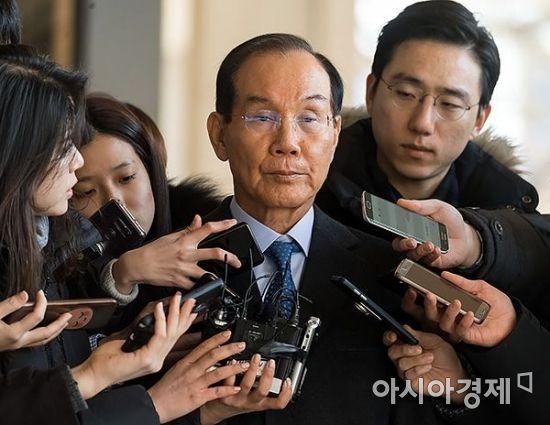 [포토] 굳게 입다문 이학수 전 삼성 부회장