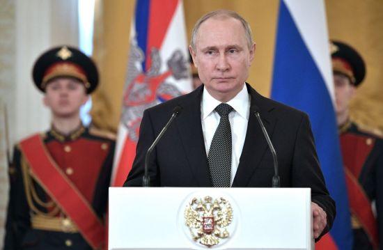 블라디미르 푸틴 러시아 대통령 [이미지출처=AP연합뉴스]