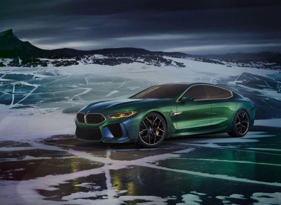 [2018 제네바 모터쇼]BMW, 콘셉트카 M8 그란 쿠페 최초 공개