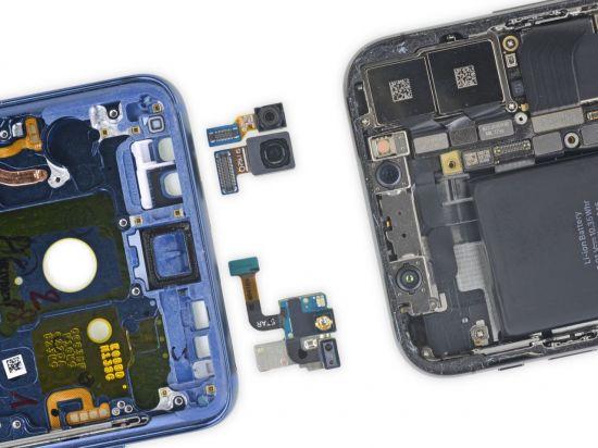 """갤럭시S9, 분해해보니…""""갤S8과 비슷"""""""