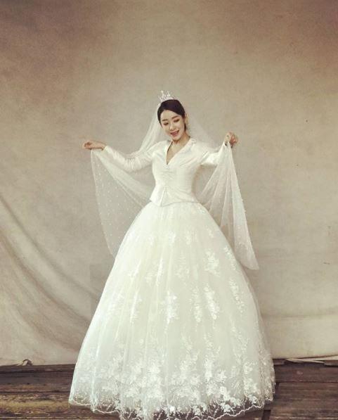 안소미, 웨딩화보 촬영 현장 공개