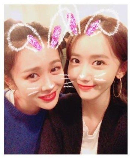 배우 손예진(왼쪽), 가수 윤아(오른쪽) / 사진=윤아 인스타그램