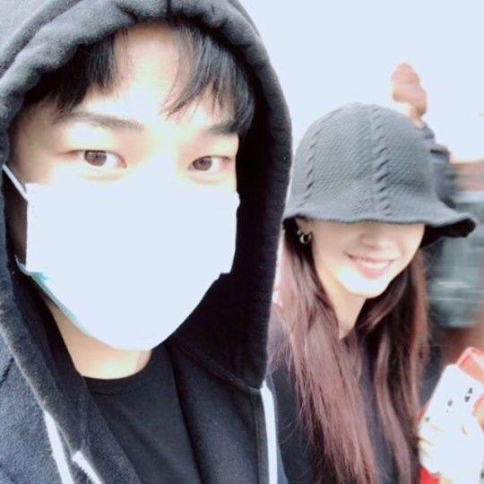 엠블랙 지오와 배우 최예슬. 사진=최예슬 SNS