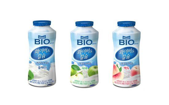 '식이섬유·칼슘 한가득' 매일유업, '매일 바이오 화이버&칼슘' 3종 출시