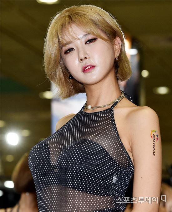 레이싱모델 허윤미