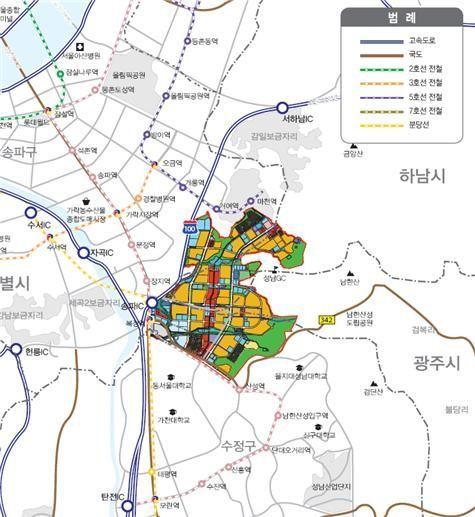 LH, 위례신도시 상업 및 준주거용지 11필지 공급