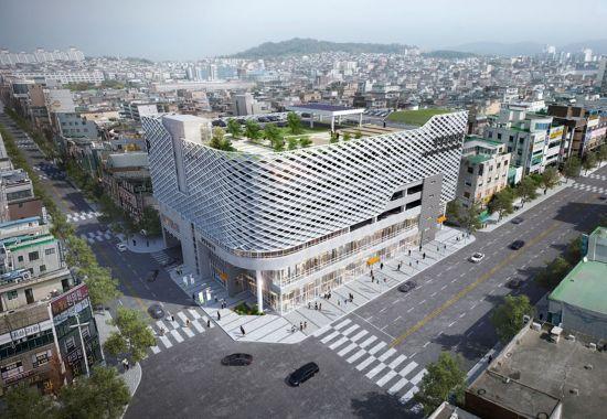 성남 중앙시장 재건축 조감도