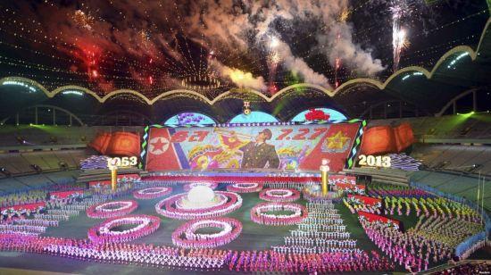 북한 집단체조 '아리랑'<이미지출처:연합뉴스>