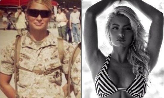 해병에서 섹시 피트니스 모델로…반전 과거女 (영상)