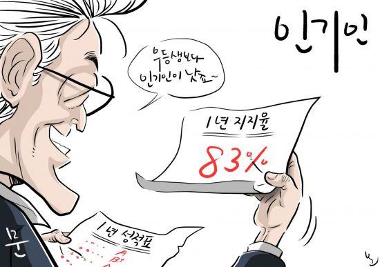 [오성수의툰] 인기인