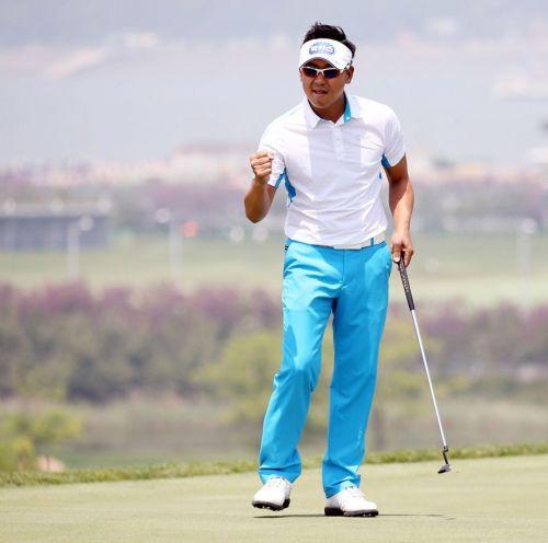 박상현이 SK텔레콤오픈에서 2개 대회 연속 우승에 도전한다.