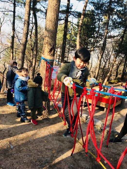 성북구, 숲 밧줄 놀이터에서 다같이 놀자!