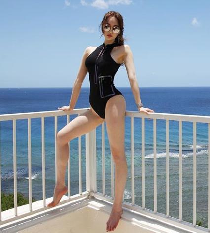 [포토] 양정원 '굴곡있는 몸매 과시'