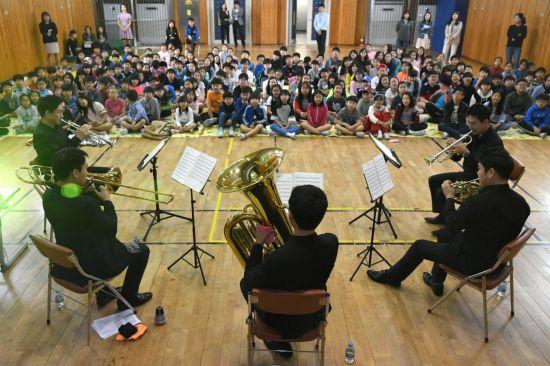 '학교로 찾아가는 음악회'