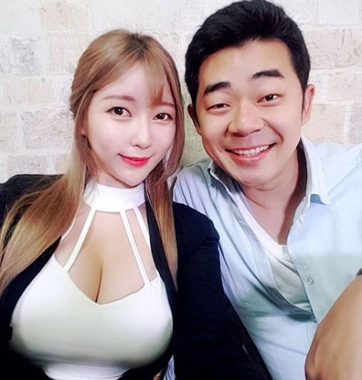 [포토] 모델 김세라-김기욱 '의외의 인맥?'