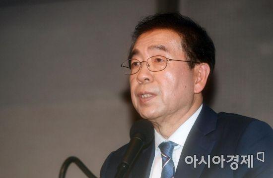 [포토]발언하는 박원순 더불어민주당 서울시장 예비후보