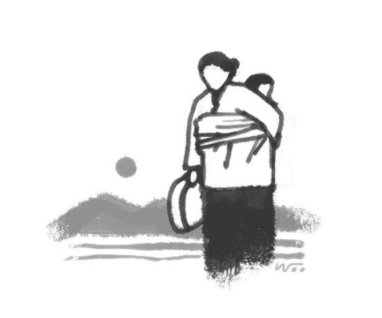 [오후 한 詩] 기우는 동그라미/차주일