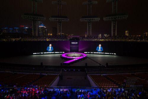 중국에서 갤럭시S9 공개하는 고동진 삼성전자 IM부문장(사진=삼성전자 제공)