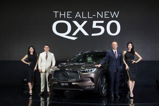 인피니티 코리아, 가변압축비 엔진 기술 담은 SUV QX50 공개