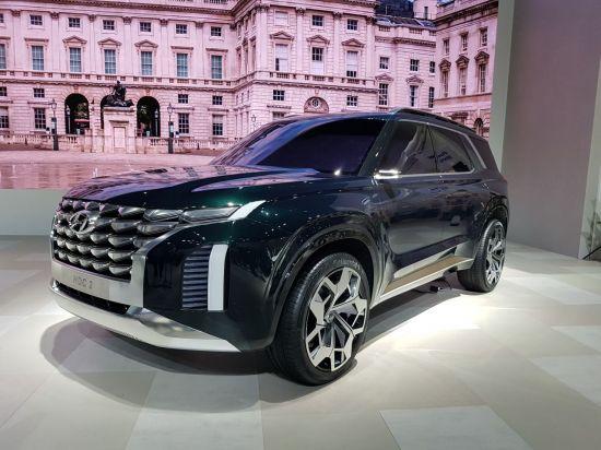 [2018부산모터쇼]현대차 대형 SUV 콘셉트카 'HDC-2 그랜드마스터 콘셉트'