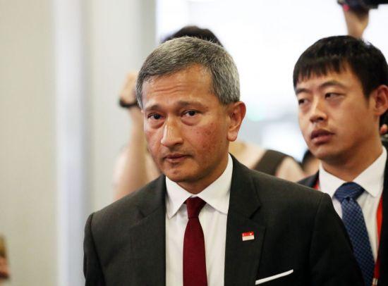 싱가포르 외무장관 방북…'북미정상회담, 실무 분야 협의할 듯'