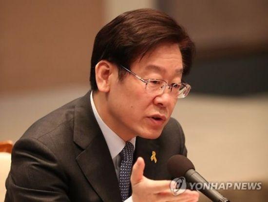 이재명 더불어민주당 경기지사 후보.사진=연합뉴스