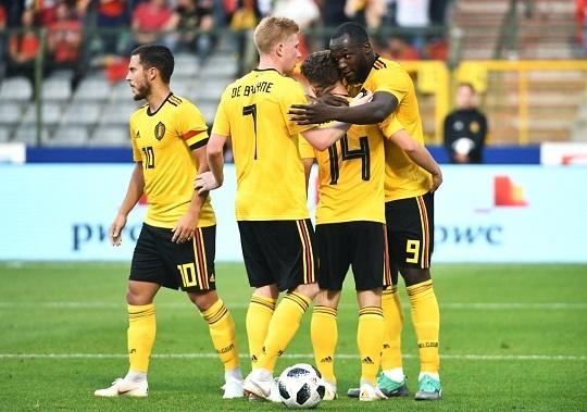 벨기에 대표팀.사진=국제축구연맹 제공