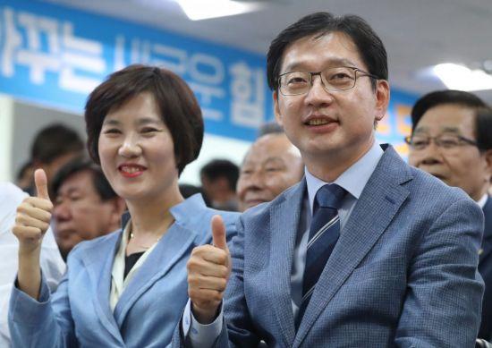 [6·13 민심]'문재인의 복심' 김경수, 경남지사 눈앞(프로필)